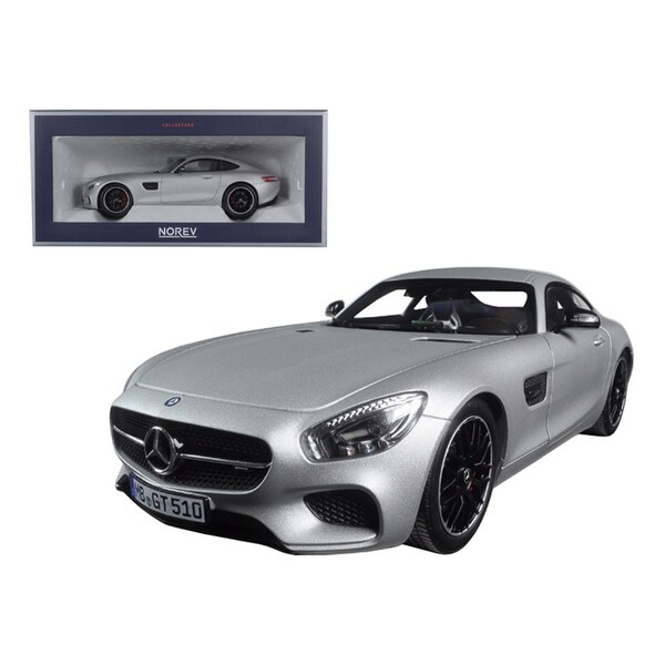 shop 2015 mercedes amg gt silver 1 18 diecast model car by norev free shipping today. Black Bedroom Furniture Sets. Home Design Ideas
