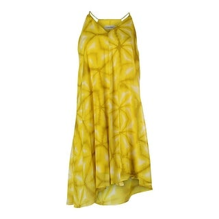 Calvin Klein Womens Chiffon Printed Sundress