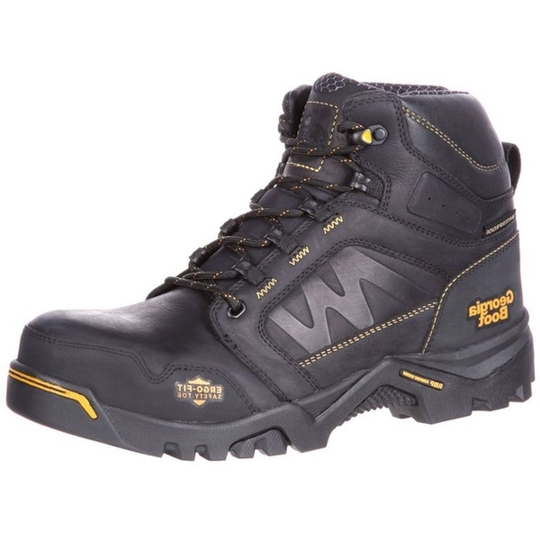 Georgia Boot Work Mens Amplitude WP CT Lightweight Black