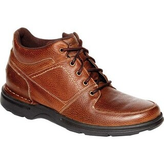 Rockport Men's Eureka Plus Ankle Boot Bridle Brown Leather