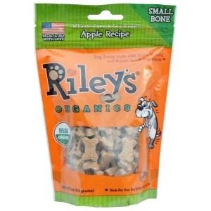 Riley's Organics Riley's Organics Treat - Apple - Case of 5 - 5 oz.