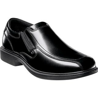 Nunn Bush Men's Bleeker Street Black Smooth Leather