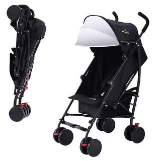 Lightweight Umbrella Stroller Baby Toddler Travel Canopy Hood Storage Basket