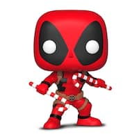 Funko Pop! Marvel: Holiday - Deadpool W/ Candy Canes