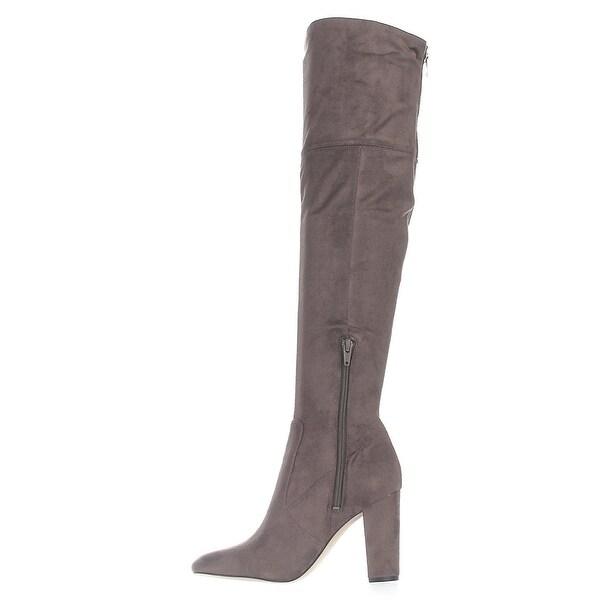Ivanka Trump Womens Rylee Almond Toe Over Knee Fashion Boots