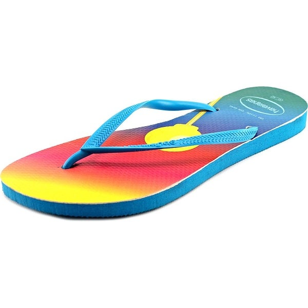 Havaianas Dylan's Candy Bar Pop Women Synthetic Multi Color Thong Sandal