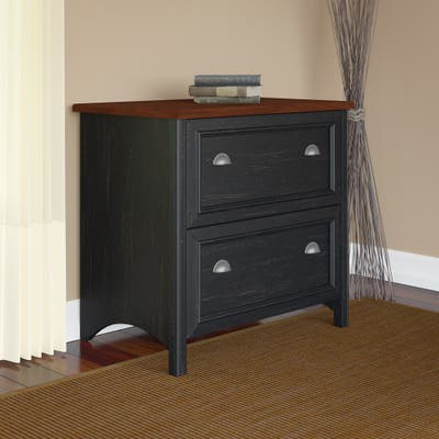 Fairview 2 Drawer Lateral File Cabinet by Bush Furniture