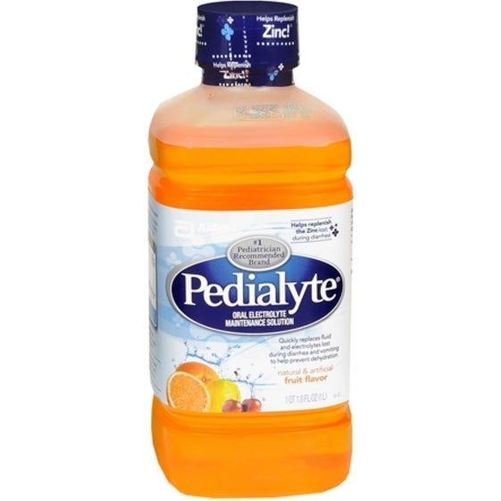 Pedialyte Oral Electrolyte Maintenance Solution Fruit 33.80 oz