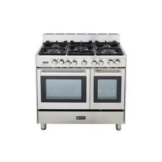 Verona VEFSGE365ND 36 Dual Fuel Double Oven Range