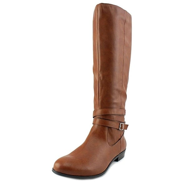 Style & Co. Womens FRIDAA RIDING BOOTS Almond Toe Riding Boots, , Size