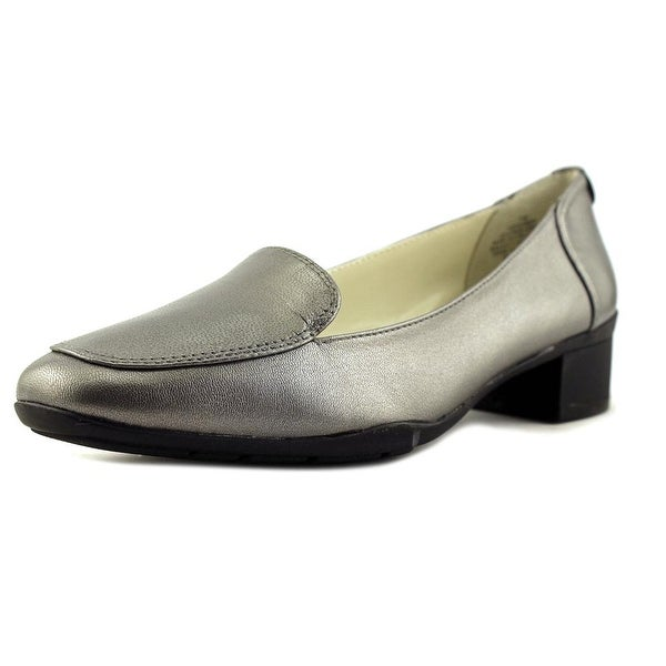 70280cfd400 Shop Anne Klein Daneen Women Apron Toe Leather Loafer - Free ...