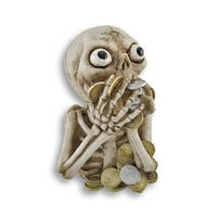 Crazy Money Hungry Skeleton Coin Bank