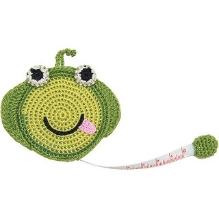 """Paradise Crocheted Tape Measure 60""""-Frog"""