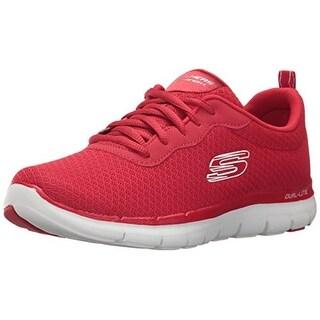 Skechers Sport Women's Flex Appeal 2.0 Newsmaker Sneaker,Red,7 M Us