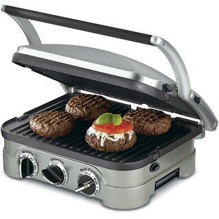 Cuisinart Griddler Gourmet 5 Functions in 1 Unit