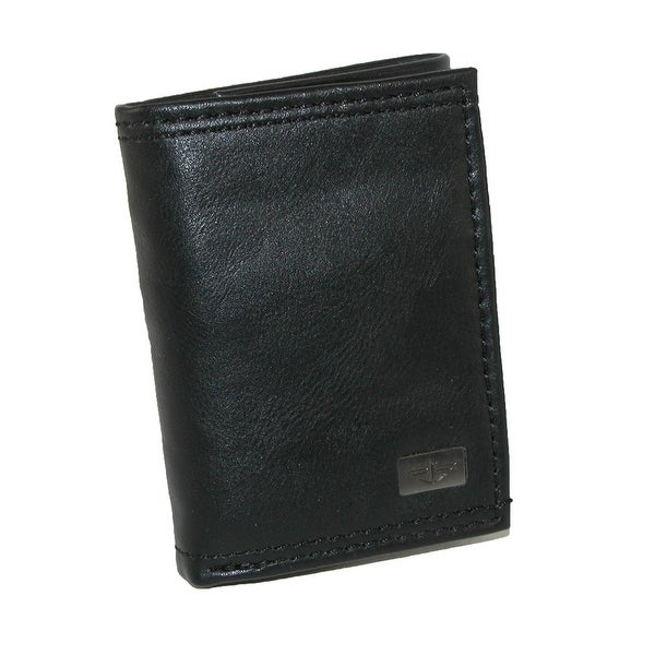 Dockers Men's Leather Extra Capacity Trifold Wallet - One size