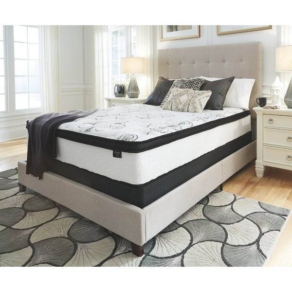 Signature Design by Ashley Chime 12-inch Hybrid Mattress. Opens flyout.