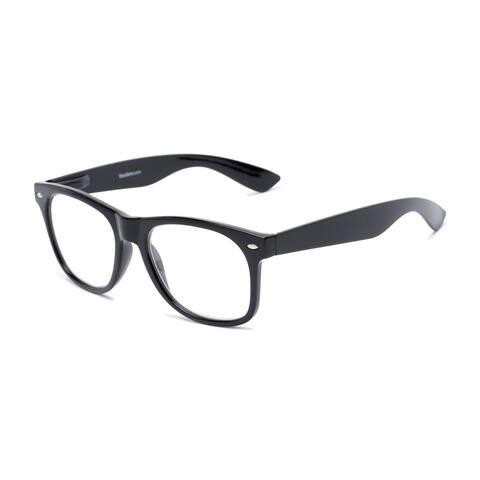 Readers.com The Dean Retro Square Reading Glasses