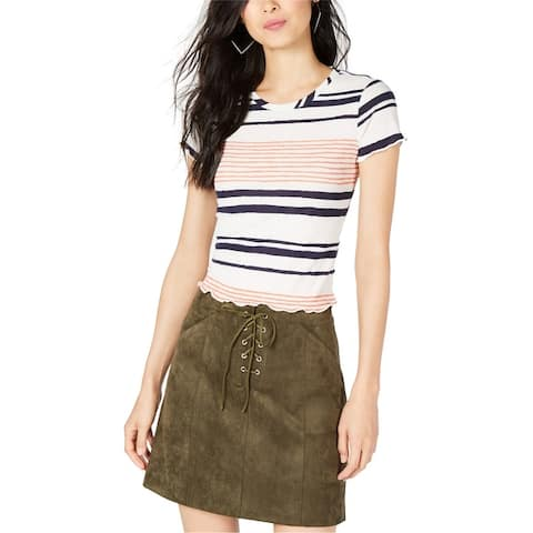 Sage The Label Womens Striped Basic T-Shirt