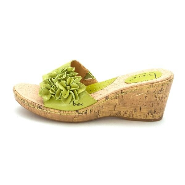 Born Womens MEL Open Toe Casual Slide Sandals