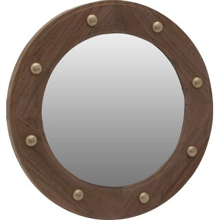 SeaTeak 62540 Mirror Porthole - Brown