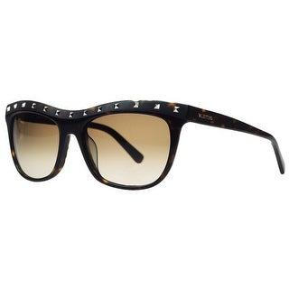 Valentino V 650/S 215 Dark Havana Wayfarer Sunglasses