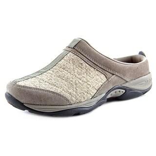Easy Spirit EZ Time W Round Toe Suede Walking Shoe