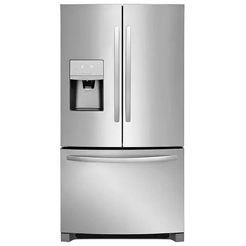 Frigidaire FFHD2250TS 21.7 Cu. Ft. French Door Counter-Depth Refrigerator - Stainless Steel