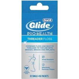 Glide Threader Floss 30 Each