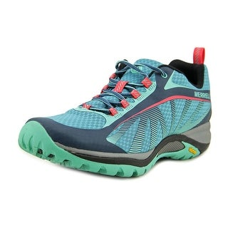 Merrell Siren Edge Round Toe Canvas Running Shoe