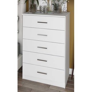 Solid Wood Metro 5-Drawer Chest by Palace Imports