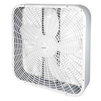 Impress IM-720 BX 20-Inch 3-Speed Box Fan White - 21 x 5 x 21