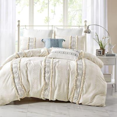 CSILLIA Luxury 7 piece comforter set