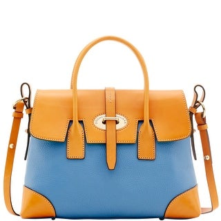 Dooney & Bourke Verona Bionda Elisa (Introduced by Dooney & Bourke at $298 in Apr 2016) - Dusty Blue