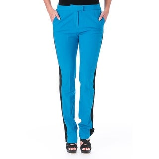 Elizabeth and James Womens Johnny Wool Woven Trm Casual Pants