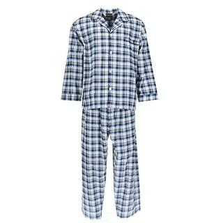 Botany 500 Men's Long Sleeve Long Leg Pajama Set (More options available)
