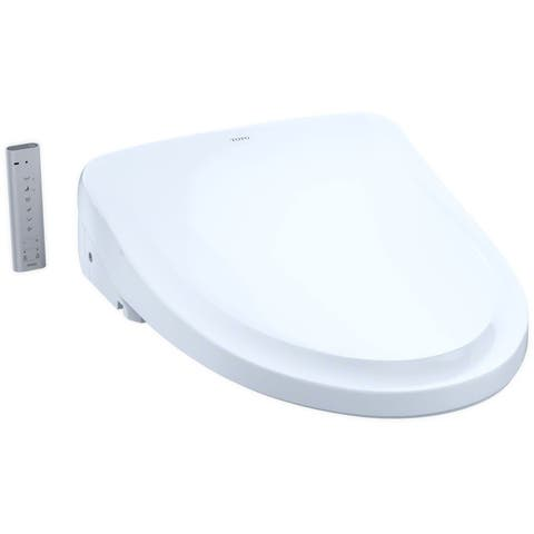 TOTO SW3054 Washlet S550E Elongated Bidet Seat with Remote and Dual