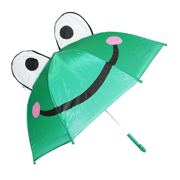 shop kiddi choice 3d pop up green frog cute umbrella free shipping