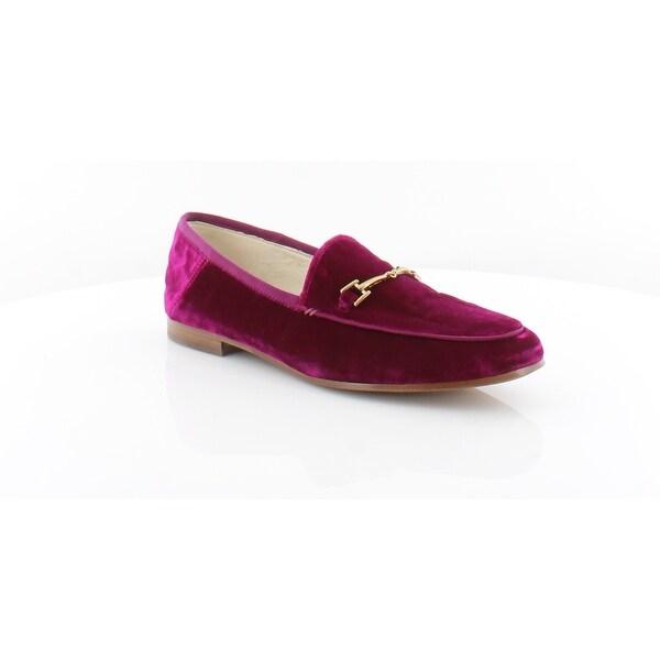 1d7934db4045c Shop Sam Edelman Loraine Women's FLATS Neon Pink - Free Shipping ...