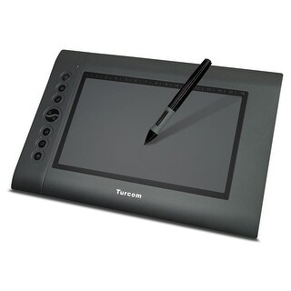 Turcom Graphic Tablet Drawing Tablets and Pen/Stylus for PC Mac Computer