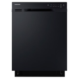 Samsung DW80J3020U 24 Inch Wide 15 Place Setting Energy Star Rated Built In Full Console Dishwasher with Hard Food Disposer