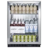 Summit SCR610BL Summit SCR610BL - 24-Inch SS Commercial Beverage Center
