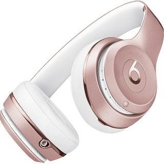 Beats by Dr. Dre  Beats Solo3 Wireless Headphones - Gloss Black rose gold