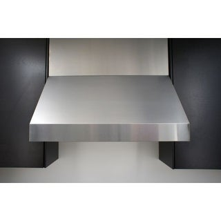 """Miseno MH70248AS 1200 CFM 48"""" Professional Stainless Steel Wall Mounted Range Hood with Dual Halogen Lighting System"""