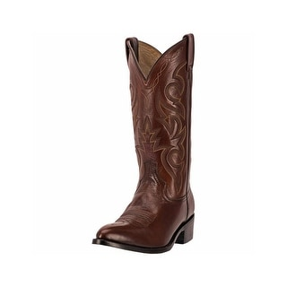 Dan Post Western Boots Mens Milwaukee Comfort Cushion Tan DP2111J