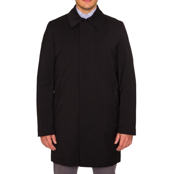 Nautica Mens Trench Coat with Removable Inner Vest