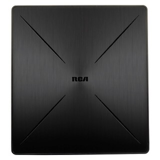 RCA SLIVR Amplified Indoor Flat HDTV Antenna, Multi-Directional