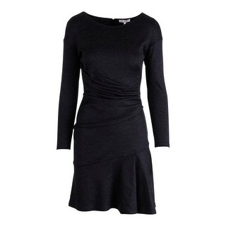 Paule Ka Womens Wool Gathered Wear to Work Dress - 38