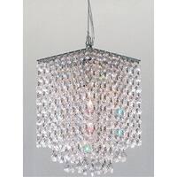 Modern Contemporary Crystal Pendant Chandelier Lighting H9 x W6