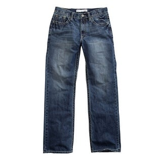 Tin Haul Western Denim Jeans Mens Constrast Blue 10-004-0420-1802 BU